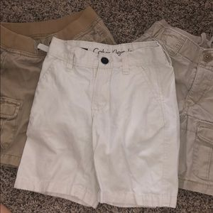 Boys Khaki Shorts- Lot of 3